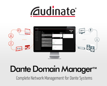 Dante Domain Manager