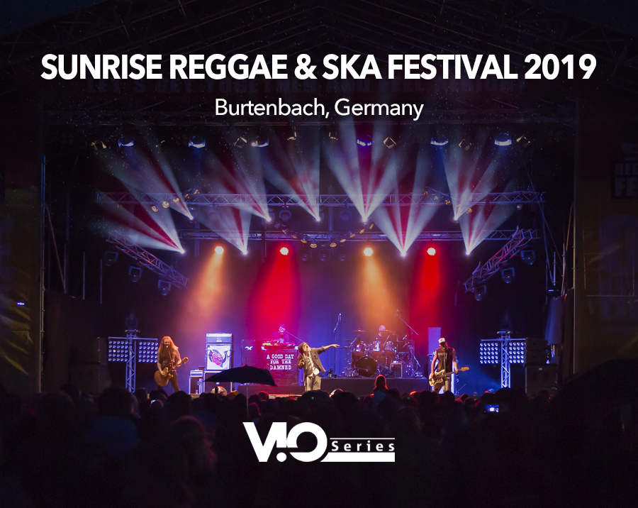 VIO L212 for Sunrise Reggae & Ska Festival 2019 (Burtenbach, Germany)
