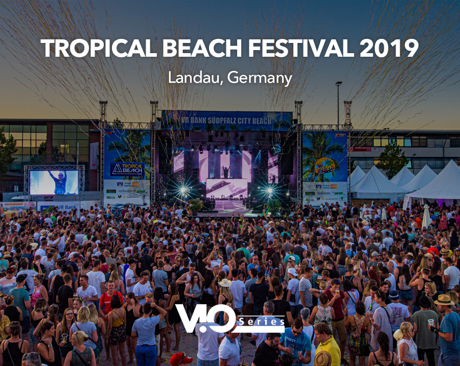 VIO L212 for Tropical Beach Festival 2019 (Landau, Germany)