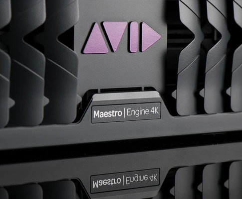 ​Avid Announces Next Generation Maestro | Engine Real-time Graphics and Video Hardware Rendering Platform
